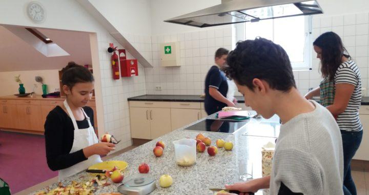 Kochen der 3.Klassen
